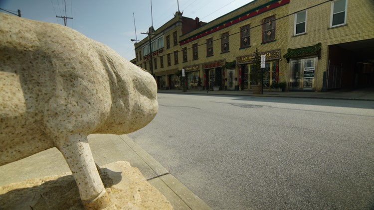 The Pig or Boar, Chinese Zodiac Animal Statue