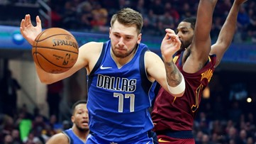 Luka Doncic has triple-double, Dallas Mavericks rout Cleveland Cavaliers 131-111