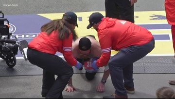 Tallmadge Marine in viral Boston Marathon video opens up about PTSD, fallen friends on 'Today Show'