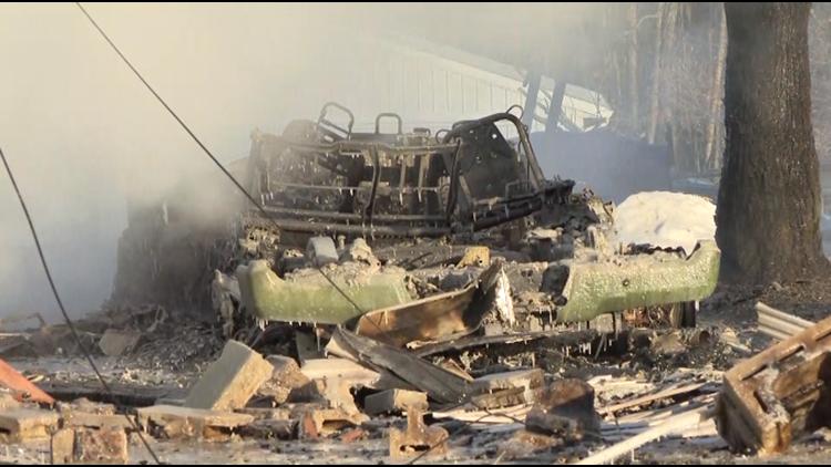 Vermilion Darrow Road house explosion 4