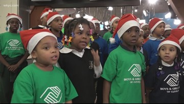 Boys and Girls Club Holiday choir puts on a show for WKYC
