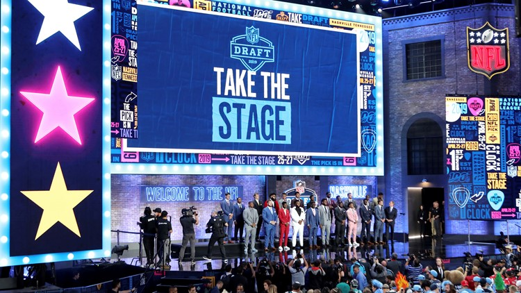 2019 NFL Draft Stage Nashville, Tennessee