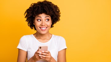 Valentine's Day text messages popping up on phones and whether chores are a good thing for kids on Lunch Break with Jay Crawford