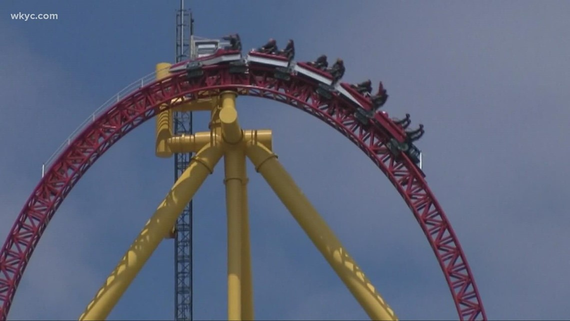 Cedar Point investigation: Metal plate came off back of coaster and struck woman in head; family says she is 'fighting for her life'