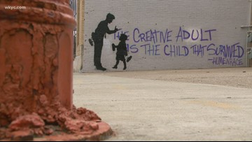 Does Cleveland have its own Banksy?