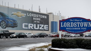 Workers finish making replacement parts at idled GM Lordstown plant
