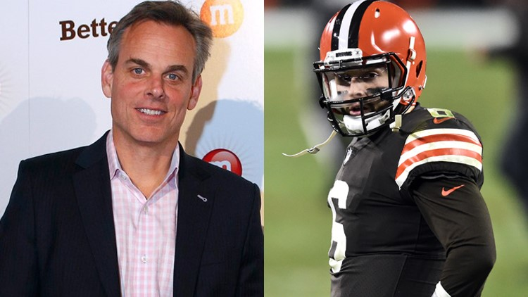 Colin Cowherd criticizes Baker Mayfield for tweeting he saw a UFO; Baker and Tom Brady respond
