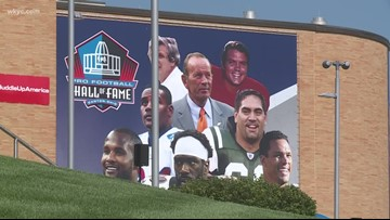 Football Hall of Fame induction ceremony