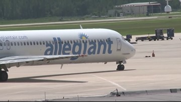 Allegiant Air announces new flights from Cleveland Hopkins Airport to Virginia, South Carolina