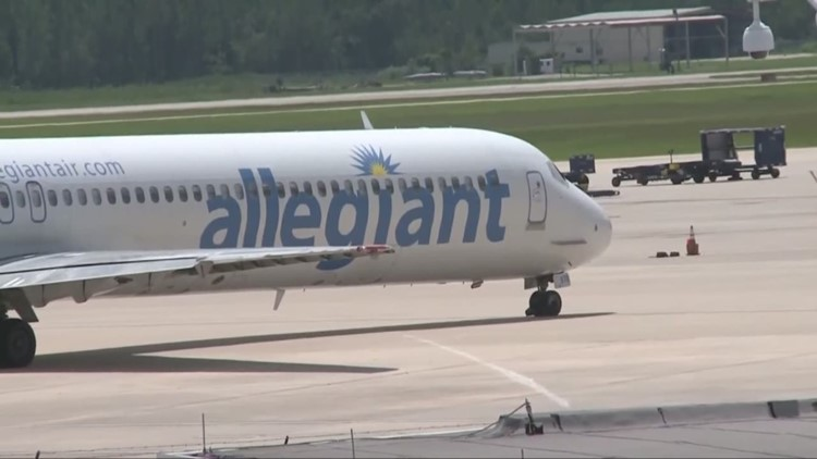 Allegiant Air announces new nonstop service coming to Akron-Canton Airport after leaving Cleveland Hopkins