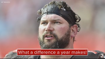 Former Browns LT Joe Thomas makes incredible physical transformation one year after retirement