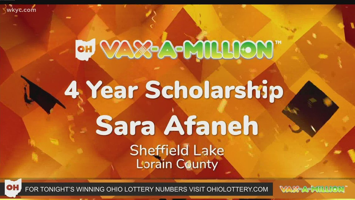 Winners announced in Ohio's third Vax-a-Million lottery