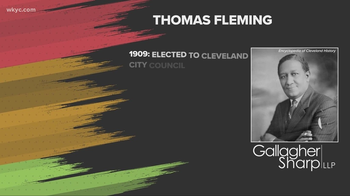 Black History Month: Thomas Fleming, the first Black man to be elected to Cleveland's City Council