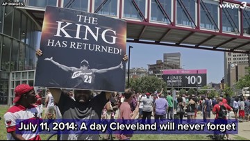 It's been 5 years since LeBron James announced his Cleveland return
