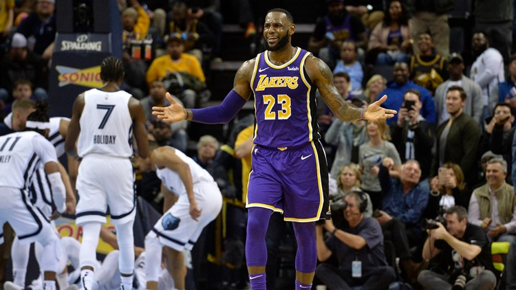 7afbeb08 Report: Nike nixes LeBron James' plan to 'gift' No. 23 to new Los Angeles  Lakers center Anthony Davis