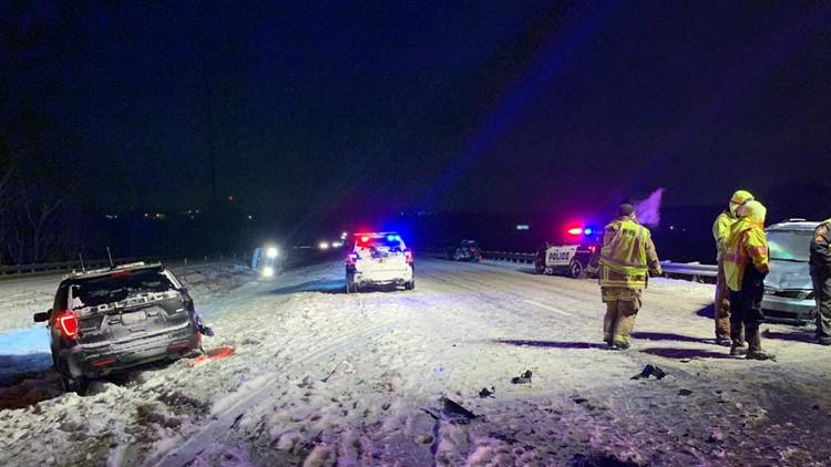 Wadsworth Police K9 safe after crash involving police cruiser