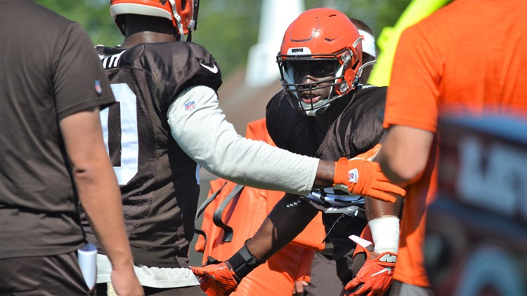 Chad Thomas Cleveland Browns Training Camp August 5, 2019