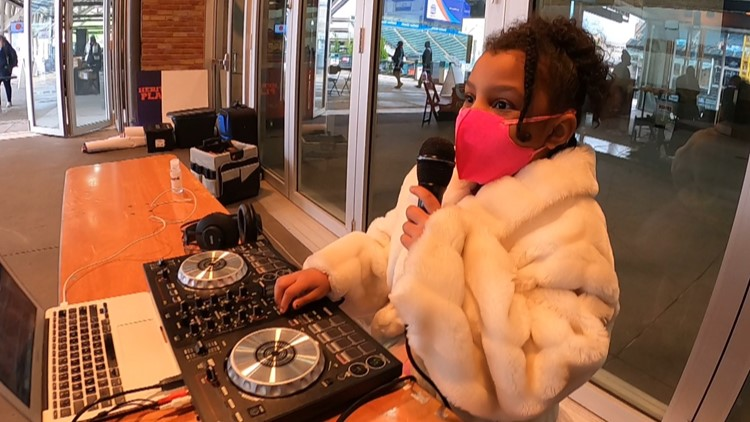 'DJ Lily Jade' in the house: How a 6-year-old South Euclid girl became a DJ after quarantine music battles with dad
