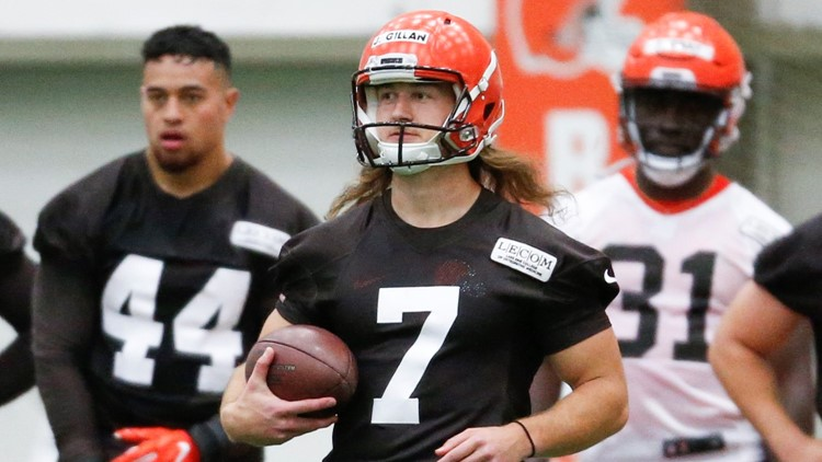 Cleveland Browns P Jamie Gillan