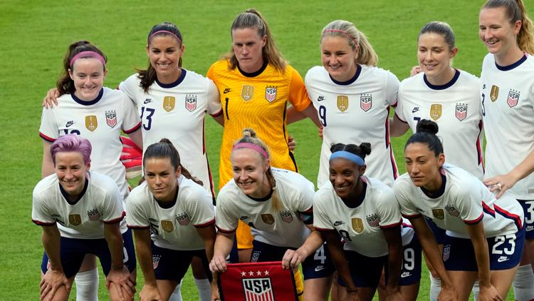 US Women's National Soccer Team players, coach say it's time to 'close the Olympics chapter' ahead of match against Paraguay in Cleveland tonight