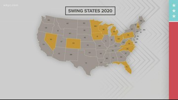 Is Ohio still considered a swing state in presidential elections?