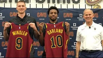 Cleveland Cavaliers sign 2019 NBA Draft picks Darius Garland, Dylan Windler, and Kevin Porter Jr.