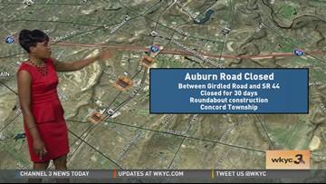 Traffic' Monday Road Report