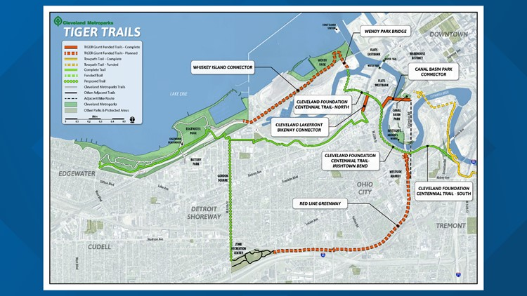 Metroparks trail pans