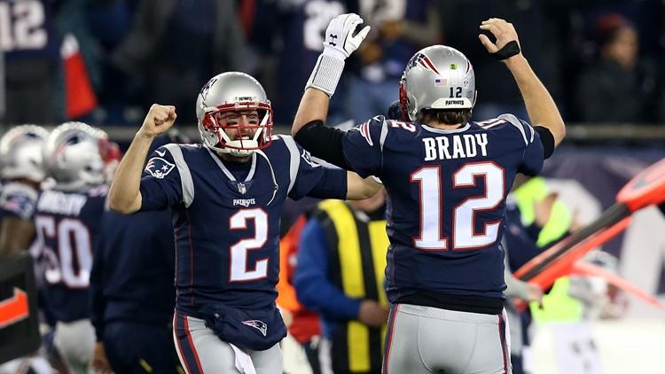New England Patriots QB Brian Hoyer 3