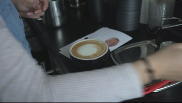 Fresh Brewed Coffee makes WKYC lattes