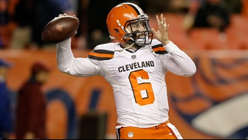 finest selection 2499f 1fb13 Ben Axelrod: Baker Mayfield made me — and Cleveland Browns ...