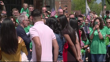 Wounded veteran surprised with new house in Cleveland Heights