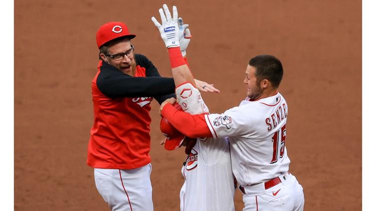 Josh Naylor hits into triple play, makes key error, Cincinnati Reds edge Cleveland Indians 3-2