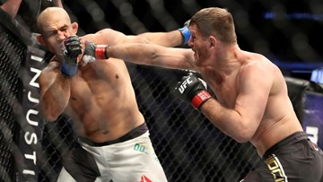 'Never thought I'd get punched in the face for a living.' UFC champ Stipe Miocic shares hilarious story about MMA career