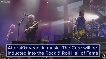 The Cure to be inducted into the Rock & Roll Hall of Fame