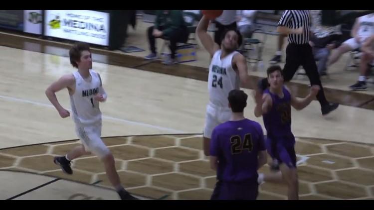 Watch: Medina senior Corey Tripp's monster dunk named No. 1 play on SportsCenter top 10