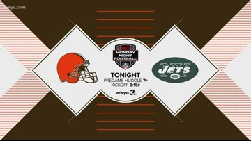 Monday Night Football to air on WKYC as Cleveland Browns battle the New York Jets