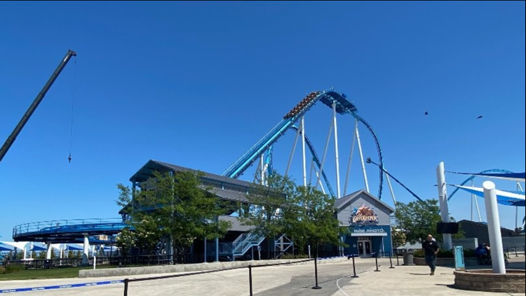 What happened to Cedar Point's GateKeeper roller coaster? Attraction closed after weekend malfunction, riders escorted off