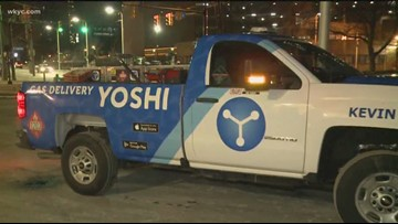 Yoshi brings gas and services to your car