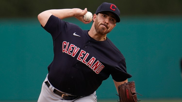 Aaron Civale named Cleveland Indians' nominee for 2021 Roberto Clemente Award