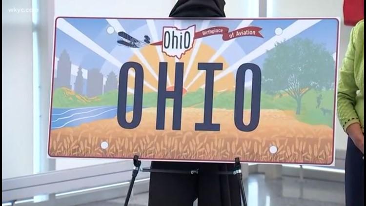 First look: Ohio Gov. Mike DeWine unveils new license plate design