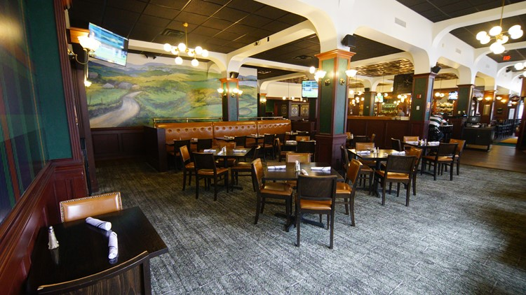 New updates to the inside of Flannery's Pub in downtown Cleveland