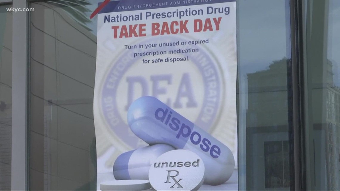 Drug Take Back Day: Prescription collection sites to be staged across Northeast Ohio Saturday for