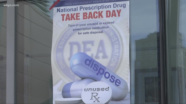 Prescription collection sites to be staged across Northeast Ohio Saturday for 'Drug Take Back Day'