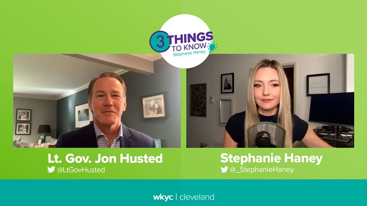 Lt. Governor Jon Husted on redistricting, mask mandates, healing the GOP, business help and training: 3 Things to Know with Stephanie Haney podcast