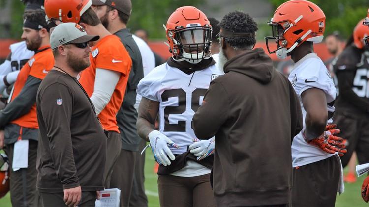 Duke Johnson Jr. Cleveland Browns Minicamp June 4, 2019