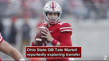 Reports: Ohio State QB Tate Martell exploring transfer