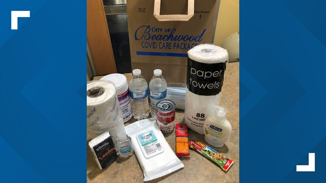City of Beachwood providing residents with free COVID-19 care packages