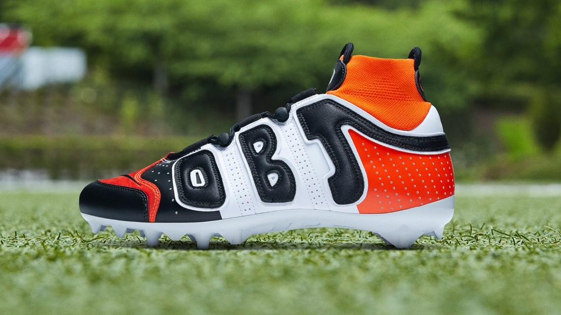 Odell Beckham Jr.'s cleats for