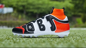 First Look: Odell Beckham Jr.'s cleats for Cleveland Browns-New York Jets Monday Night Football matchup